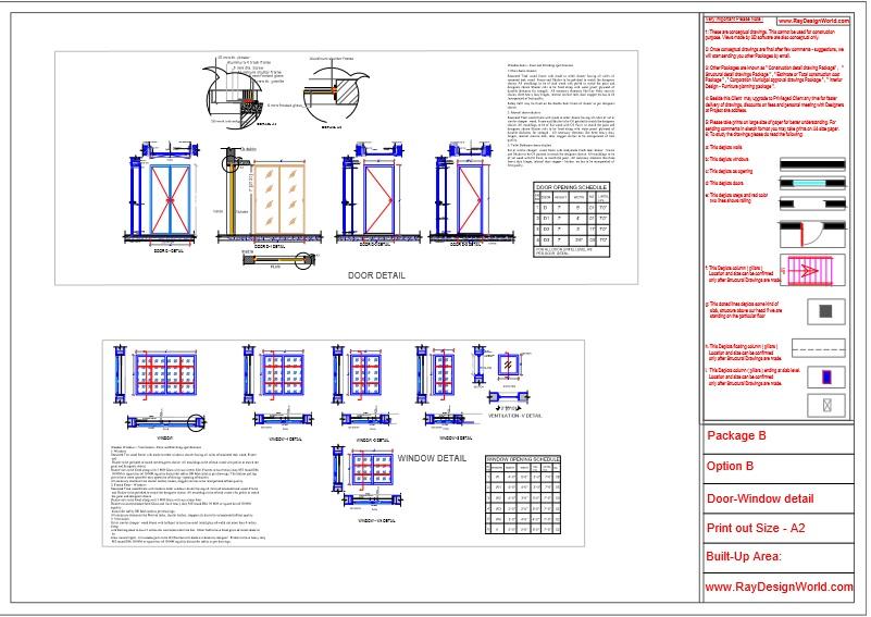 Mr.Abhay kumar singh-Azamgarh UP-Bungalow-Package-B-Door window detail-6