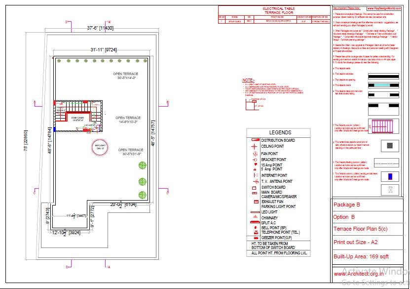 Mr.Abhay kumar singh-Azamgarh UP-Bungalow-Package-B-Electrical Plan-5c
