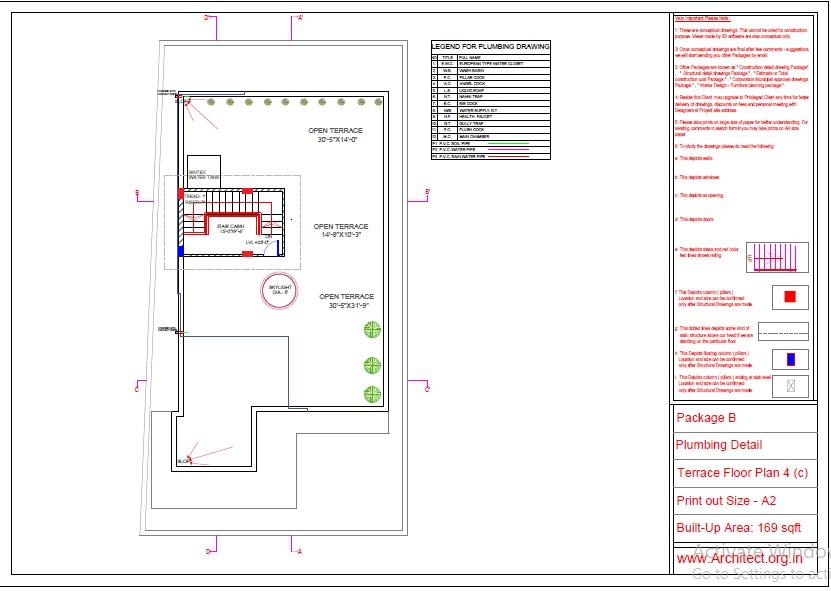 Mr.Abhay kumar singh-Azamgarh UP-Bungalow-Package-B-Plumbing Detail-4c