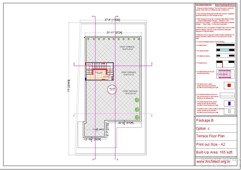 Mr.Abhay kumar singh-Azamgarh UP-Bungalow-Package-B-Presentation drawing-1c