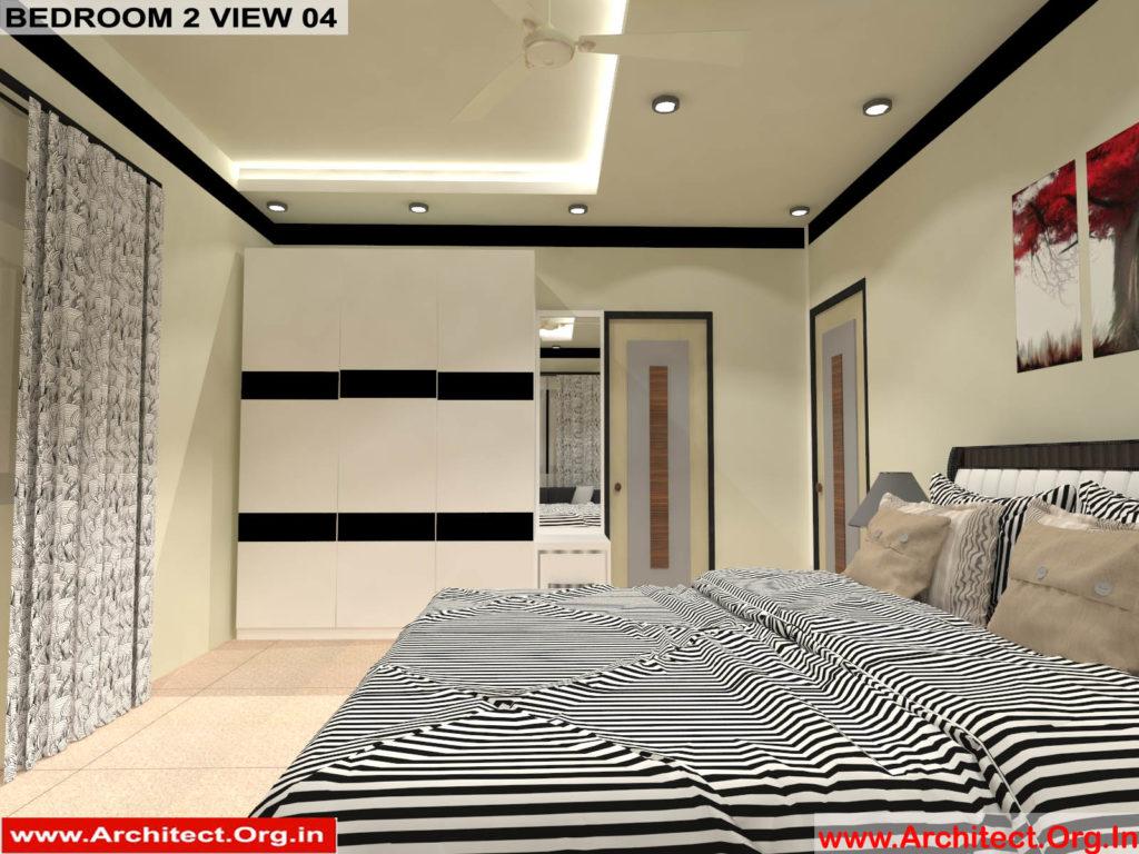 Mr.Manish K Shah-Ahemdabad Gujrat-House Interior-Bedroom-2 view-04