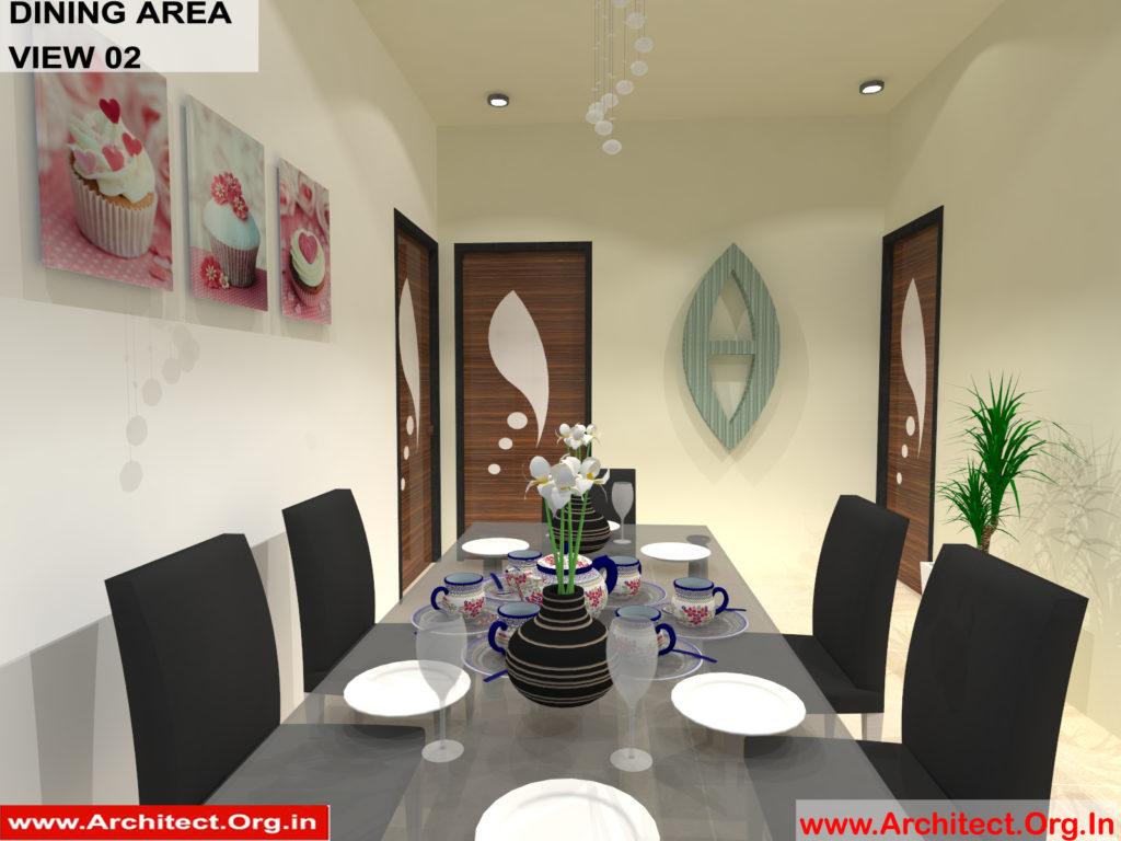 Mr.Manish K Shah-Ahemdabad Gujrat-House Interior-Dining area view-02
