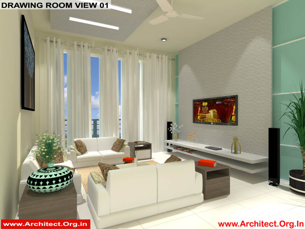 Mr.Manish K Shah-Ahemdabad Gujrat-House Interior-Drawing room view-01