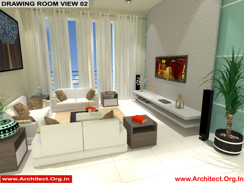 Mr.Manish K Shah-Ahemdabad Gujrat-House Interior-Drawing room view-02