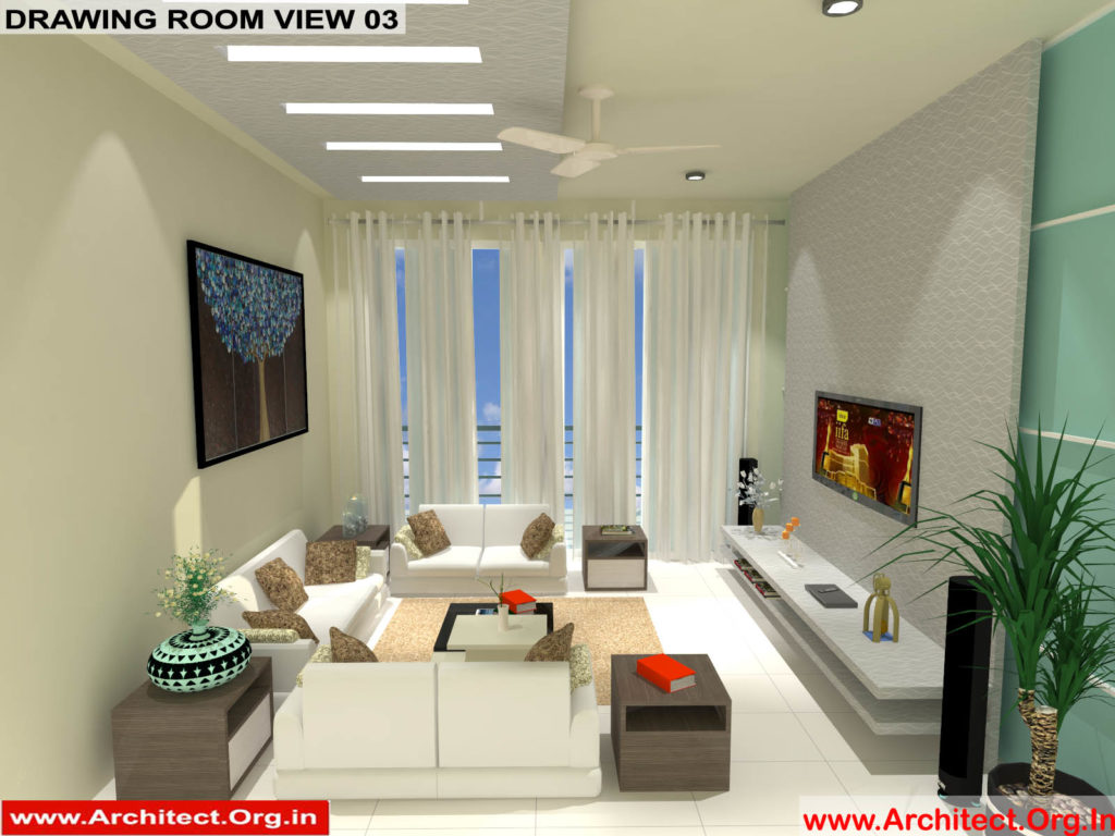 Mr.Manish K Shah-Ahemdabad Gujrat-House Interior-Drawing room view-03
