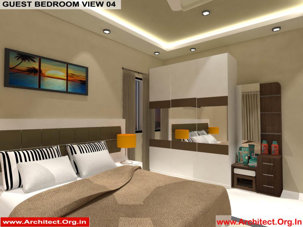 Mr.Manish K Shah-Ahemdabad Gujarat-House Interior-Guest bedroom view-04