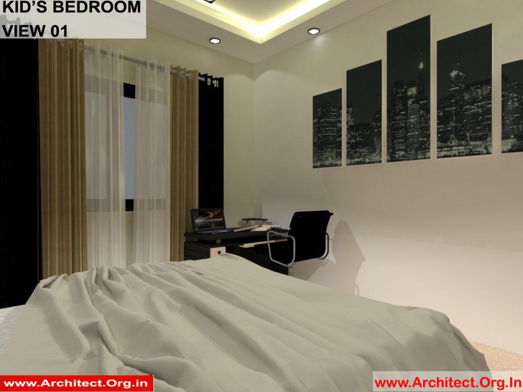 Mr.Manish K Shah-Ahemdabad Gujrat-House Interior-Kids Bedroom view-01