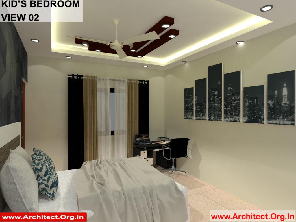 Mr.Manish K Shah-Ahemdabad Gujrat-House Interior-Kids Bedroom view-02