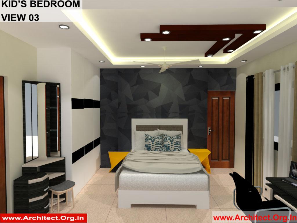Mr.Manish K Shah-Ahemdabad Gujrat-House Interior-Kids Bedroom view-03