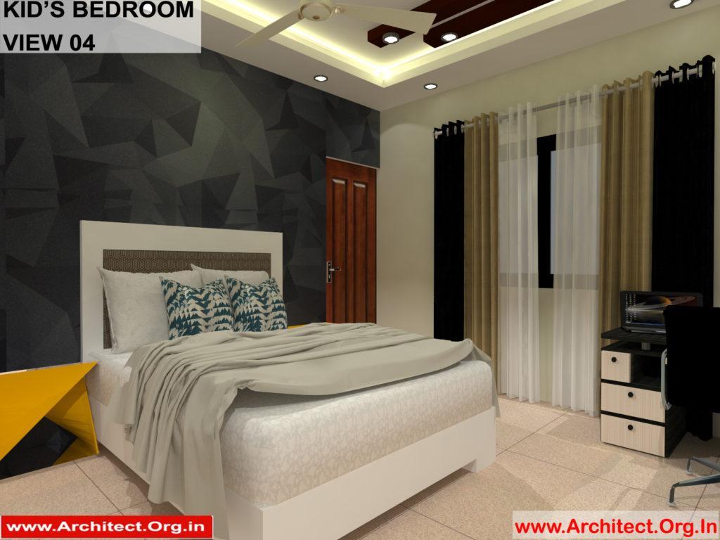 Mr.Manish K Shah-Ahemdabad Gujrat-House-Interior-Kids Bedroom view-04