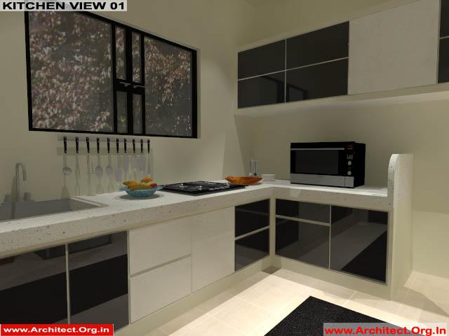 Mr.Manish K Shah-Ahemdabad Gujrat-House Interior-Kitchen view-01