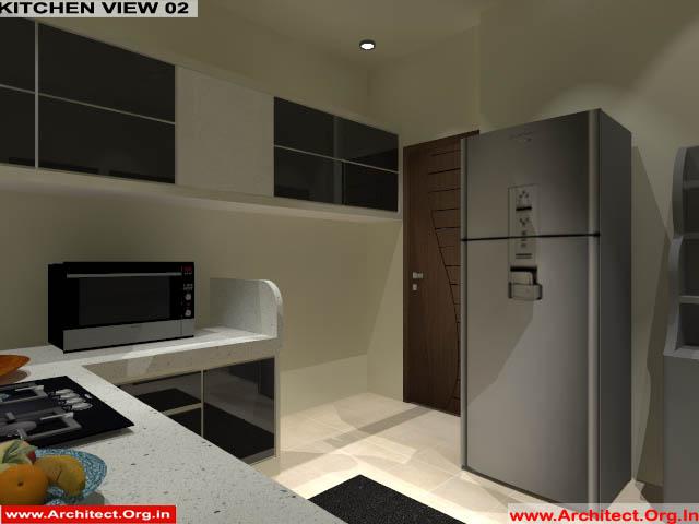 Mr.Manish K Shah-Ahemdabad Gujrat-House Interior-Kitchen view-02