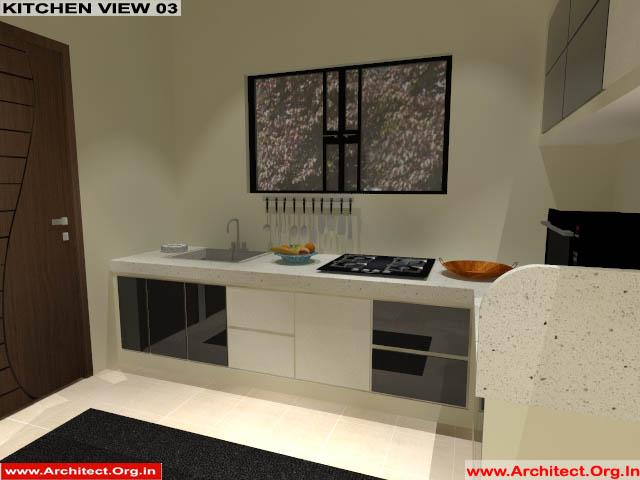 Mr.Manish K Shah-Ahemdabad Gujrat-House Interior-Kitchen view-03