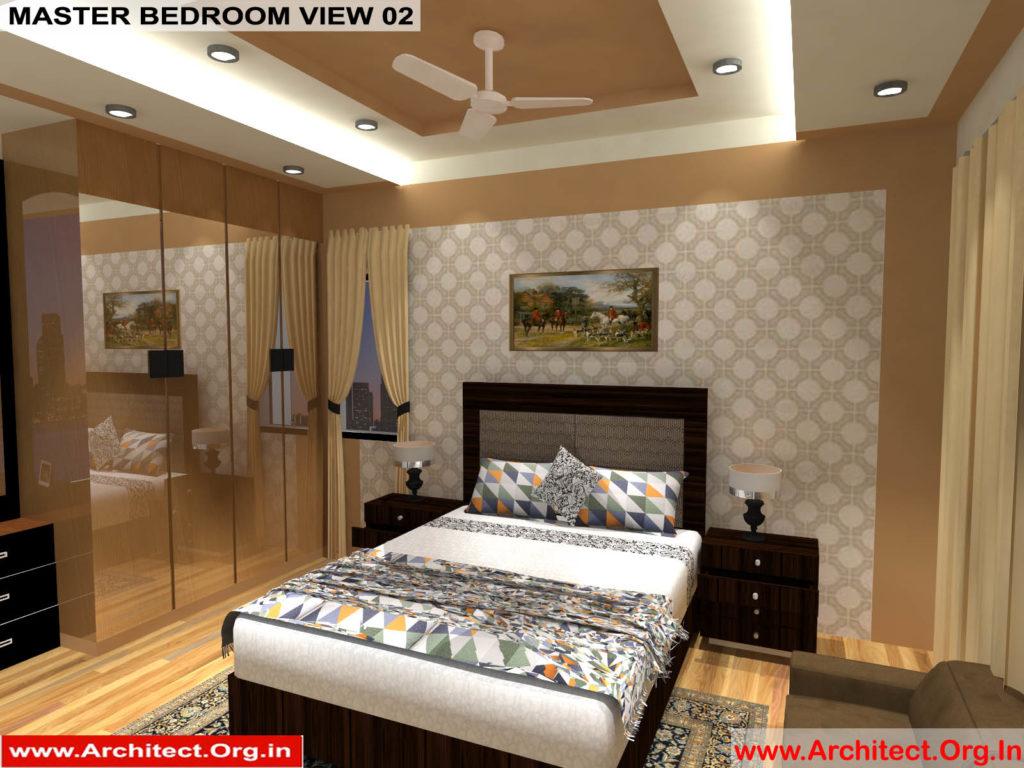 Mr.Manish K Shah-Ahemdabad Gujarat-House-Interior-Master bedroom view-02