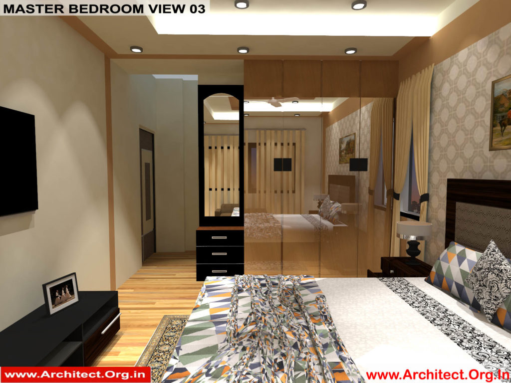 Mr.Manish K Shah-Ahemdabad Gujarat-House Interior-Master bedroom view-03