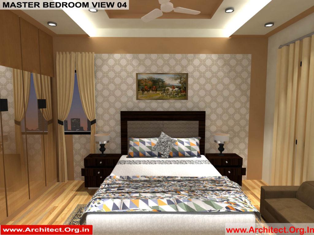 Mr.Manish K Shah-Ahemdabad Gujarat-House Interior-Master bedroom view-04
