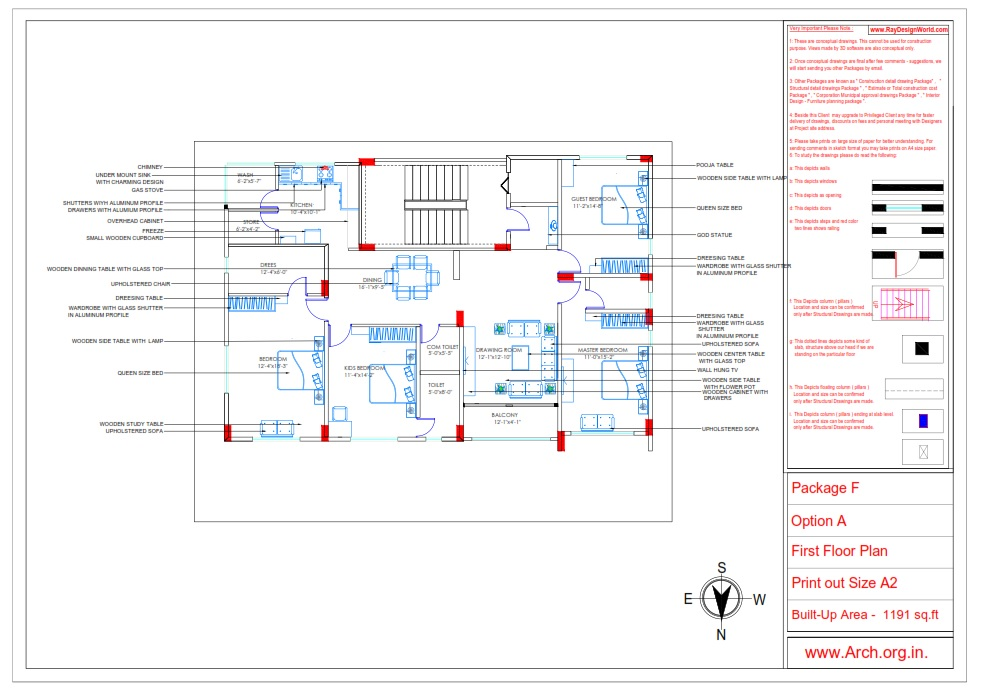 Mr.Manish K Shah-Ahmedabad Gujarat-House Interior-Furniture layout