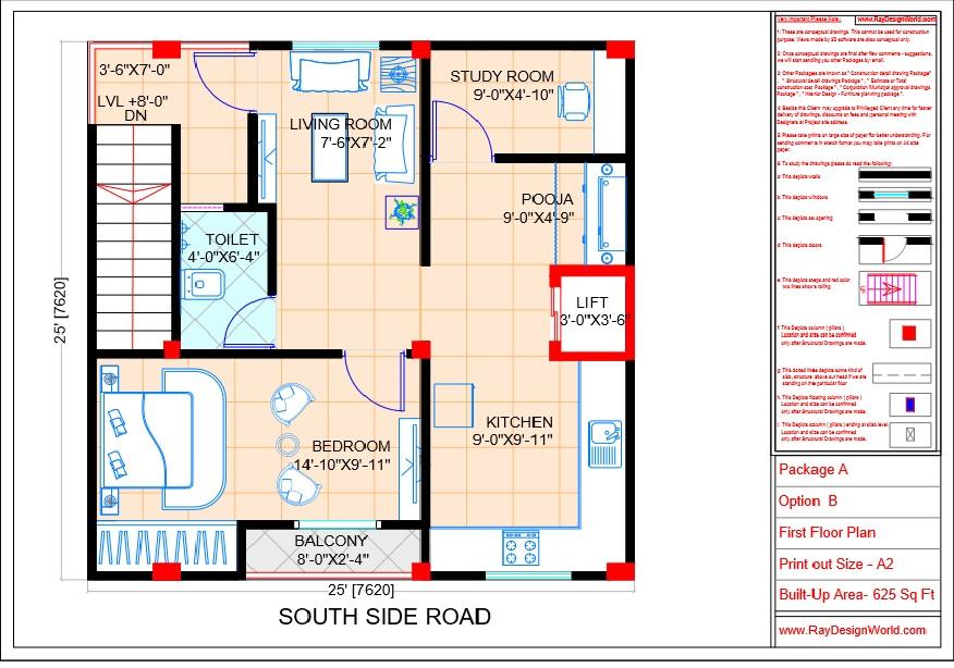 Mr.Sanjeev Kumar-Muzzafarpur Bihar-Bungalow-First floor Plan