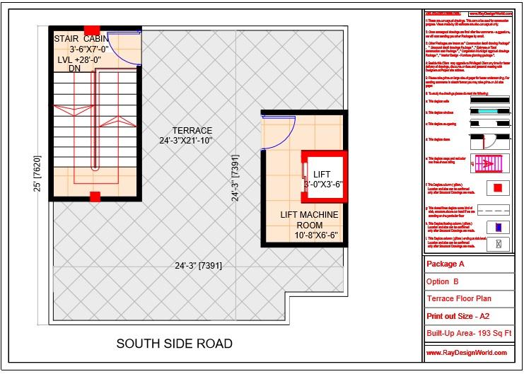 Mr.Sanjeev Kumar-Muzzafarpur Bihar-Bungalow-Terrace floor Plan