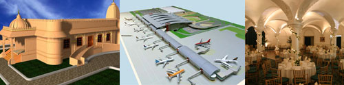 Airport designs by expert architects