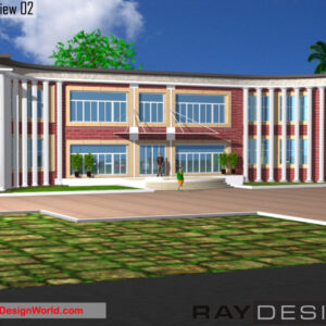 College Exterior Design view 02 - Midnapur West Bengal - Mr.Himadri Bhattarcharya