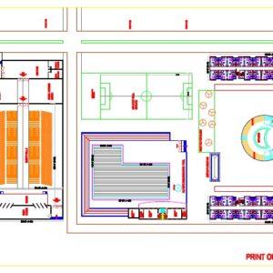 Hotel Ground Floor Planning - Nigeria -Mr.Majem
