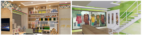interior design of shops by expert interior designers