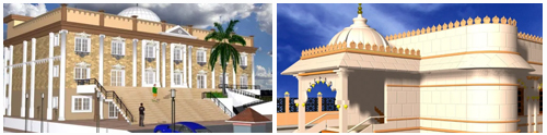 temple designs by expert architects